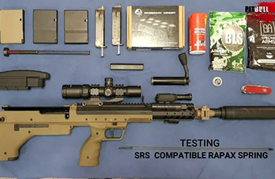 rapax sniper spring