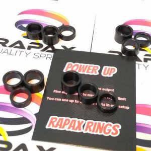rapax power up rings spacers